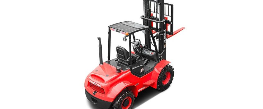 Chariot élévateur tout terrain à 4 roues motrices de 2,5T à 3,5T