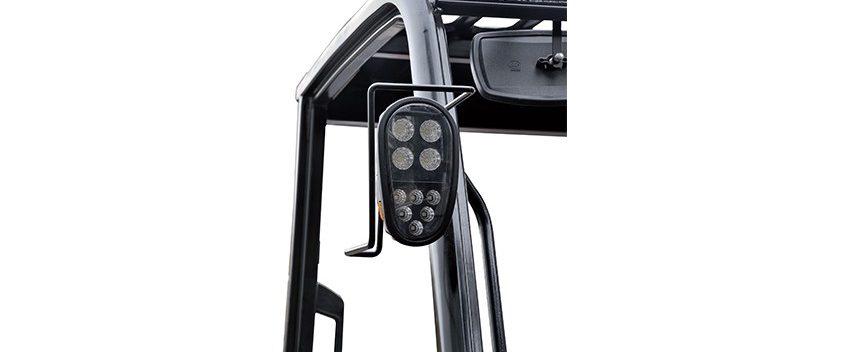 Chariot élévateur tout terrain à 2 roues motrices de 2,5T à 3,5T