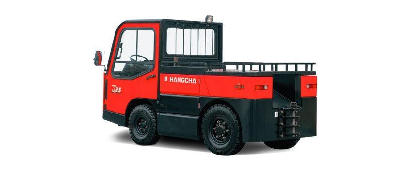 Tracteur électrique à conducteur porté assis – 20 000 à 25 000 Kg
