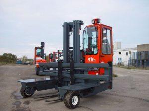 Chariot multidirectionnel thermique COMBI C4500-12 DIESEL Kubota